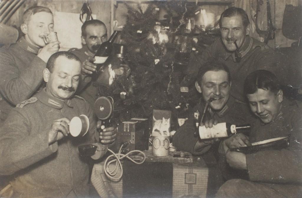 Jul hos Luftskibstropperne (Landsarkivet for Sønderjylland)