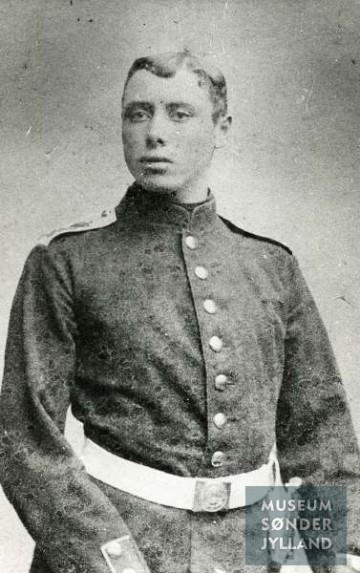 Jens Peter Petersen (1877-1915) Dybbøl