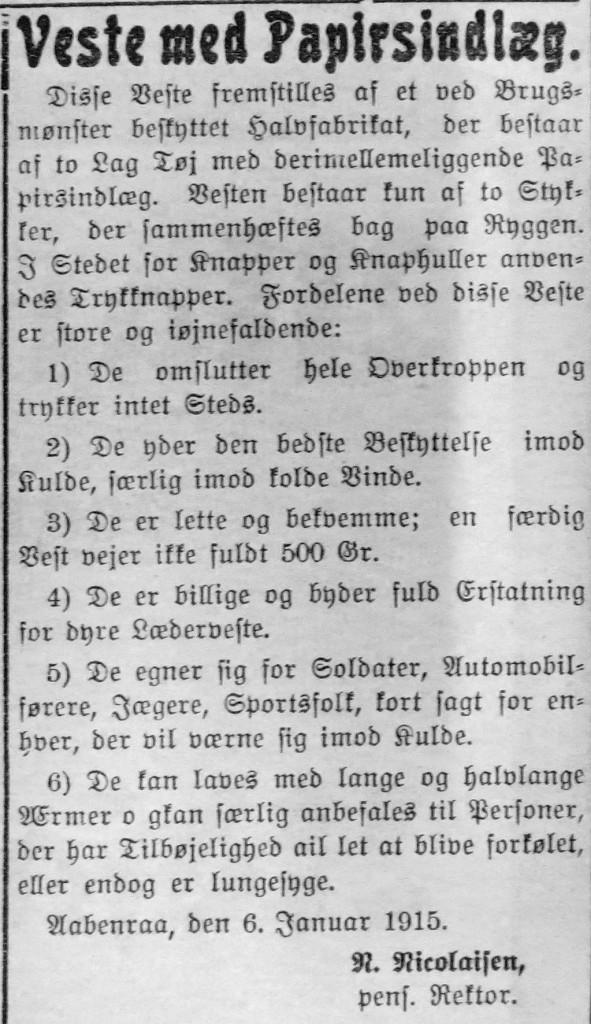 1915-01-08 papirveste annonce