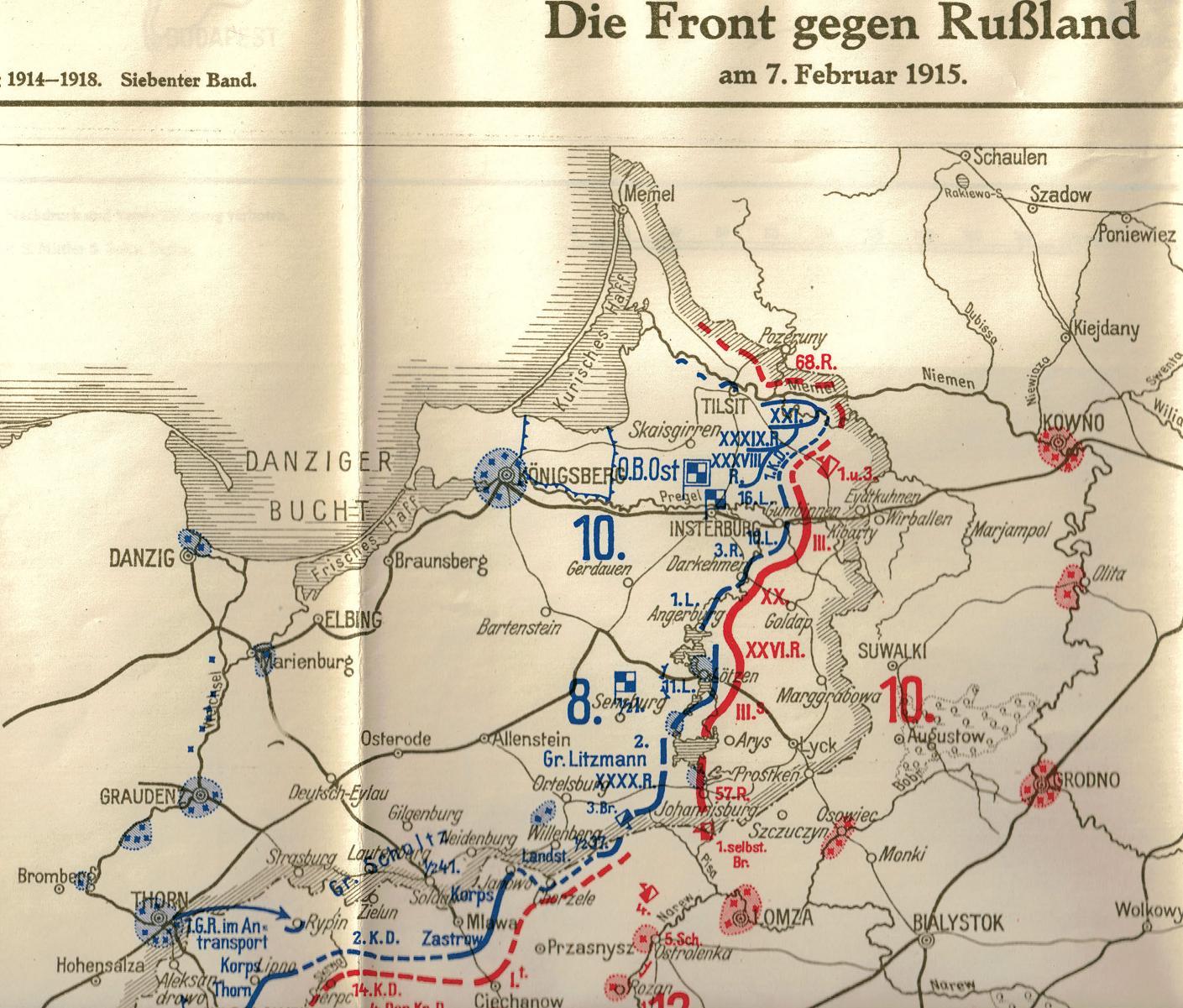 1915-01-28 LIR84_Front gegen Russland 7_Feb_1915