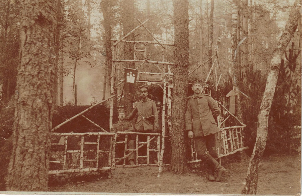1915-05-24 LIR84 Otto Theodor Wagner - Foto af Birkenheim i polsk skov