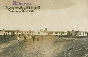 Krigsfangelejren ved Bajstrup (Arkivet ved Dansk Centralbibliotek)