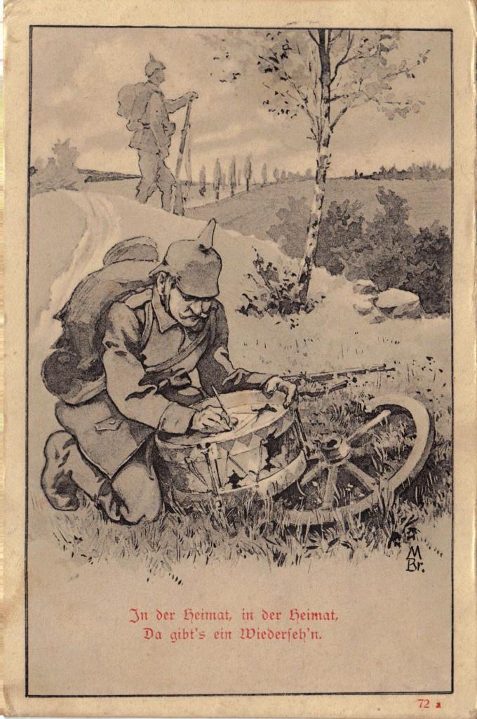 1916-06-04 LIR84 Otto Theodor Wagner - In der Heimat, in der Heimat, Da gibt's ein Wiederseh'n