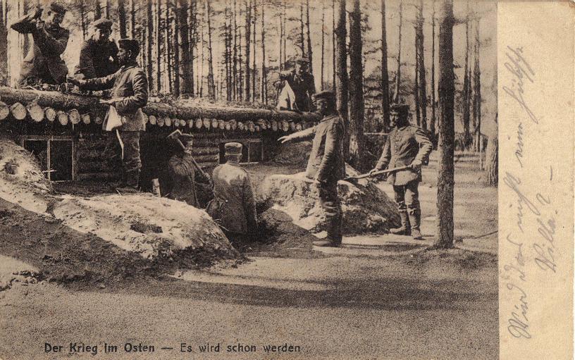 1915-07-29 LIR84 Otto Theodor Wagner - Der Krieg im Osten - Es wird schon werden