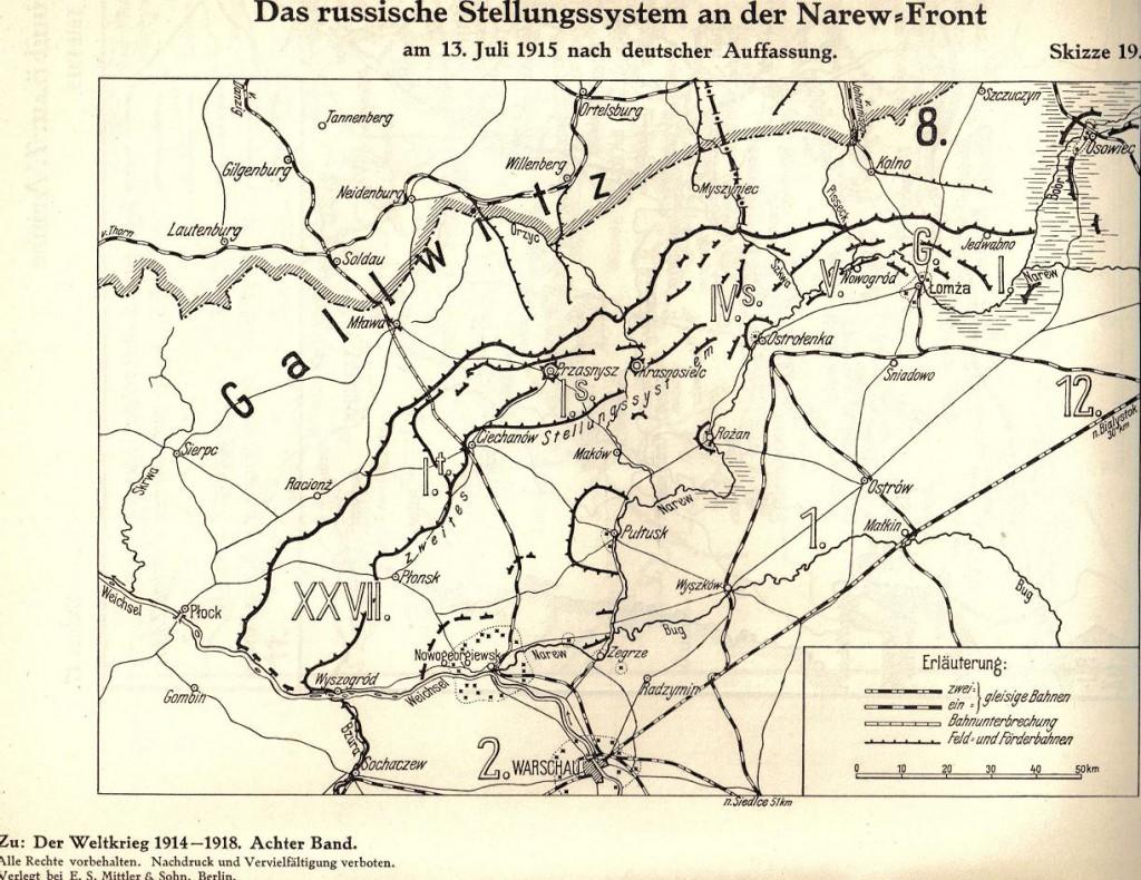 1915-07-30 LIR84 Der Weltkrieg 1914-18 Narew-Front