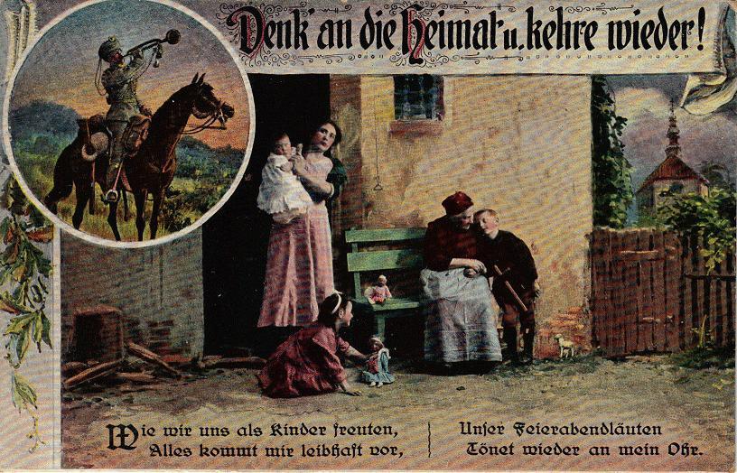 1915-08-10 LIR84 Otto Theodor Wagner - Denk an die Heimat u kehre wieder!