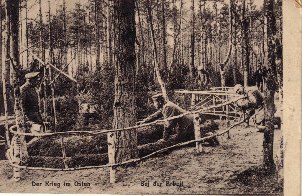 1915-08-20 LIR84 Otto Theodor Wagner - Der Krieg im Osten - Bei der Arbeit