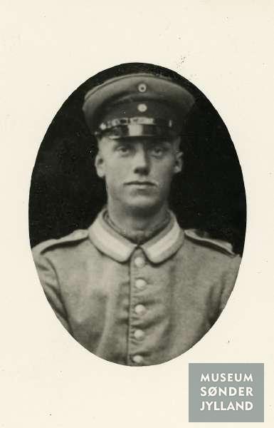 Andreas Christensen Lausen (1895-1915) Vibøge, Lysabild