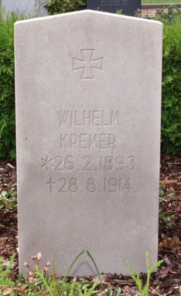 Mindesten. Rømø Kirkegård