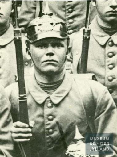Christian Hinrichsen Schneefeld (1895-1916) Avnbøl, Ullerup