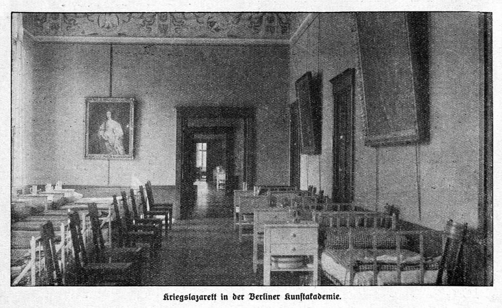 Kriegslazarett_Kunstakademie_Berlin_1914