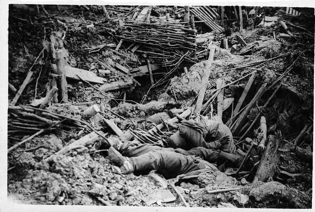 Tysk stilling Messines 1917