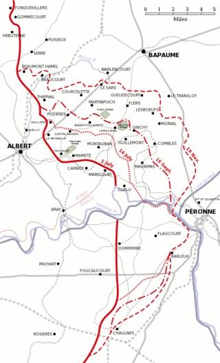 Somme 1916 Den Store Krig 1914 1918
